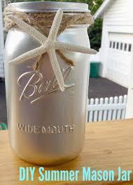 Mason Jar Vases For Wedding Easy Diy Summer Mason Jar Vase The Chirping Moms