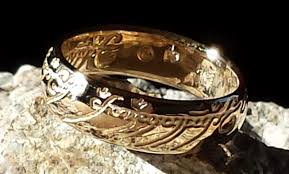 lord of the rings wedding band exquisite and on sale the one ring from the lord of the rings
