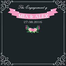 diy wedding backdrop names custom chalkboard picture more detailed picture about allenjoy
