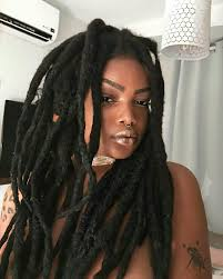 natural locs hairstyles for black women pin by 0ct0b3r on hair style life style pinterest locs dreads