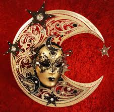 moon mask bluemoon venice magnificent