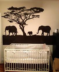 vinyl wall decal sticker safari theme elephant family os aa104