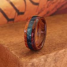 Anniversary Gifts For Men Engagement - cocobolo wood ring mens wooden ring wooden wedding band