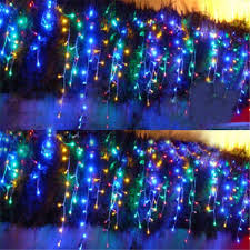 Outdoor Christmas Decor Uk by Aliexpress Com Buy 10mx4m 1280 Led Outdoor Christmas Curtain