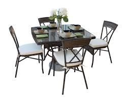 Metal Garden Table And Chairs Panama Jack Rum Cay 5 Pc Dining Set