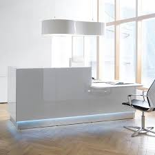Corner Reception Desk by Mdd Linea Reception Desk