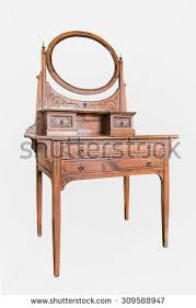 Wood Vanity Table Old Wood Vanity Table Woman House Stock Photo 161002760 Shutterstock