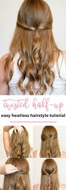 heatless hair styles the 25 best heatless hairstyles ideas on pinterest heatless
