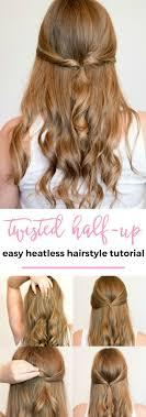 heatless hairstyles the 25 best heatless hairstyles ideas on pinterest heatless