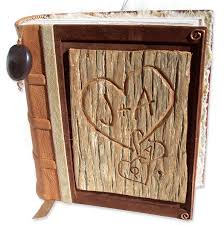 leather bound scrapbook custom leather book covers personalized leather scrapbooks