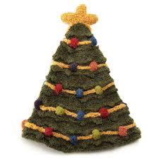 christmas tree hat christmas tree hat knit cap uncommongoods