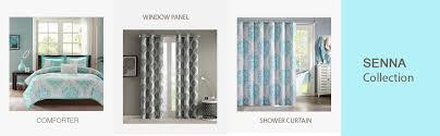 amazon com intelligent design senna comforter set full queen