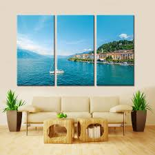 compare prices on 3 piece home decor modern art painting seascape