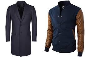 winter dressing men