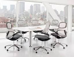 Grey Meeting Table Propeller Conference Table Knoll