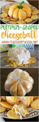 pumpkin shaped cheese ball recipe country cooking ranch and folk