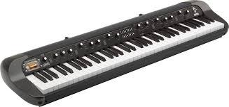Impressive Vintage Nuance Korg Sv 1 Stage Vintage Piano 73 Key Black