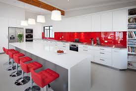High End Kitchen Cabinet Manufacturers Kitchen Endearing High End Red Kitchen Cabinet Design Featuring