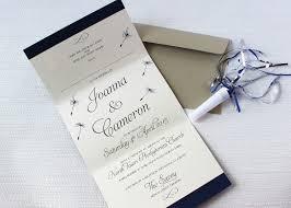 wedding invitations nz wedding invitation nz dandelion dreams concertina wedding