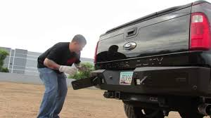 Used Ford F250 Truck Parts - ford f250 u0026 f350 super duty honeybadger rear bumper youtube