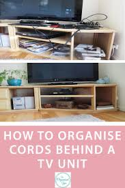How To Organise Your Home How To Organise Cords Blog Home Organisation The Organised You