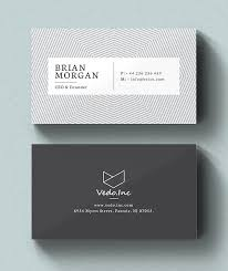 Minimal Design Business Cards Clean Business Card Template Best For Personal Identity Business