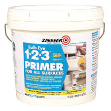 Home Depot 5 Gallon Interior Paint by Zinsser Bulls Eye 1 2 3 2 Gal White Water Based Interior Exterior