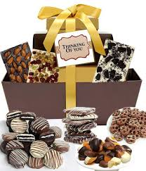 thinking of you gift baskets chocolate covered company thinking of you chocolate gifts