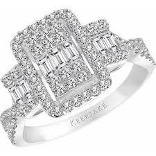 cheap engagement rings at walmart keepsake cosmopolitan 1 carat t w certified 10kt white