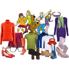 Daphne Scooby Doo Halloween Costume Diy Group Costumes Cast Scooby Doo
