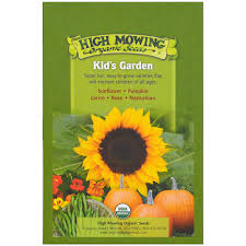 flower food packets high mowing organic seeds kid s garden organic seed collection