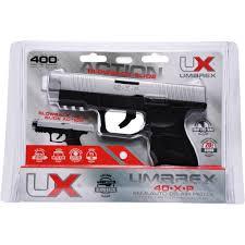 umarex 40xp blowback bb pistol black chrome walmart com