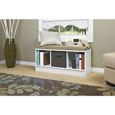 Living Room Decoration Idea by Furniture Pretty White Closetmaid Cubeicals Bench With Wooden