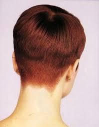back view of wedge haircut wedge haircut 80s google search hair pinterest wedge