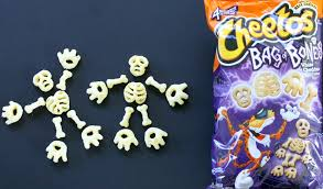 Skeleton Bones Halloween Halloween Fun And Tricks With The New Cheetos Bag Of Bones