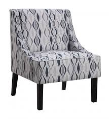 Upholstered Accent Chairs by Chair Navy Accent Chair Brindon Graffiti Main Blue And White