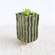 ceramic plant pot clay succulent and cactus pots three snails