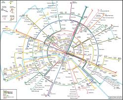 Map Paris France by Max Roberts U0027 Circular Paris U0027 Underground Design Is A Blend Of