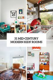 modern kids room 31 cute mid century modern kids rooms décor ideas digsdigs