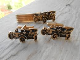 Christmas Gift Dad - vintage model t cufflinks u0026 tie clip wedding anniversary