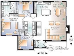 plan de maison avec cuisine ouverte maison de la semaine plain pied de style ch tre plan de