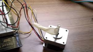 stepper motor fl39st34 6 wires with uln2003 and arduino mega