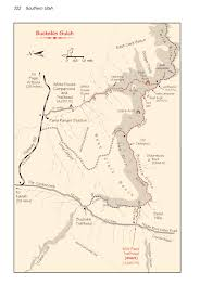Monument Valley Utah Map by Buckskin Gulch Wild Backpacker