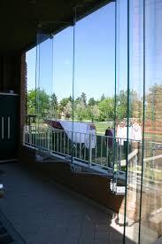 veranda vetro pareti in vetro sistemi ad impacchettamento vetreria a rimini
