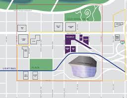 map us bank stadium us bank stadium parking guide tips maps deals spg