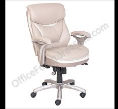 Office Chair Front Png Serta Outlet Smart Layers Verona Manager Chair Ivory Champagne