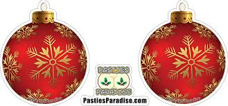 all deck d out in fancy ornaments pasties paradise