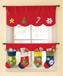 kitchen curtain design lovable christmas curtain designs home designing ideas kitchen