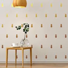 stickers muraux chambre fille ado sticker tapisserie 25 ananas u2013 stickers cuisine nourriture et