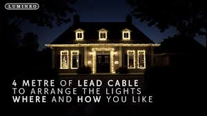 lumineo led cluster lights